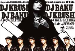 2010.09.24(Fri)DJ BAKU出演『JBEATZ』@名古屋JB'S