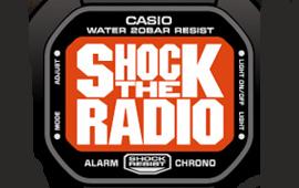 本日ON AIR!DJ BAKU出演「SHOCK THE RADIO powered by G-SHOCK」