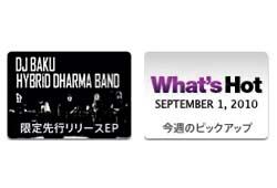 本日9/1よりiTunes Store限定で発売を開始した、 DHDB ワールドワイドリミックス集が