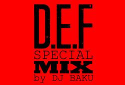 DJ BAKU<br>DHDB SCRATCH MEGA MIX<br>無料配信開始!!