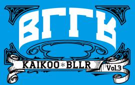 KAIKOO*BLLR Vol.3開催決定!